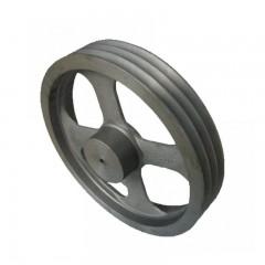 精密传动钢链轮 旋压皮带轮 减速型 同步传动皮带轮 传动钢链 大螺