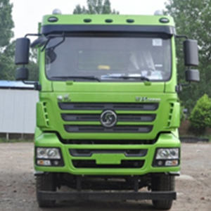 陕汽重卡 德龙M3000 城建加强版 350马力  6*4    5.6米自卸车