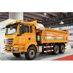 陕汽重卡 德龙M3000 矿用加强版 375马力 6*4   5.8米自卸车