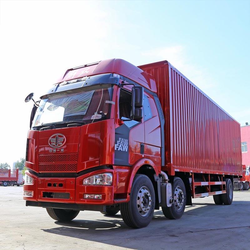一汽解放 J6M重卡 280马力 6X2 9.5米厢式载货车