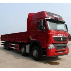 中国重汽 HOWO T7重卡 460马力 8X4 9.5米栏板载货车
