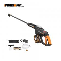威克士WORX洗车机WG630E.2 20V锂电大流量清洗机洗车水枪 洗车神器